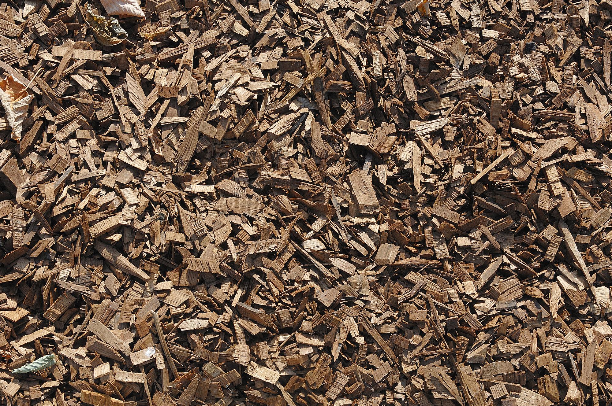 Plaquette de bois de chauffage
