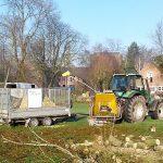 Tracteur broyeur de Xavier Derycke - Abattage, démontage et élagage à Silly